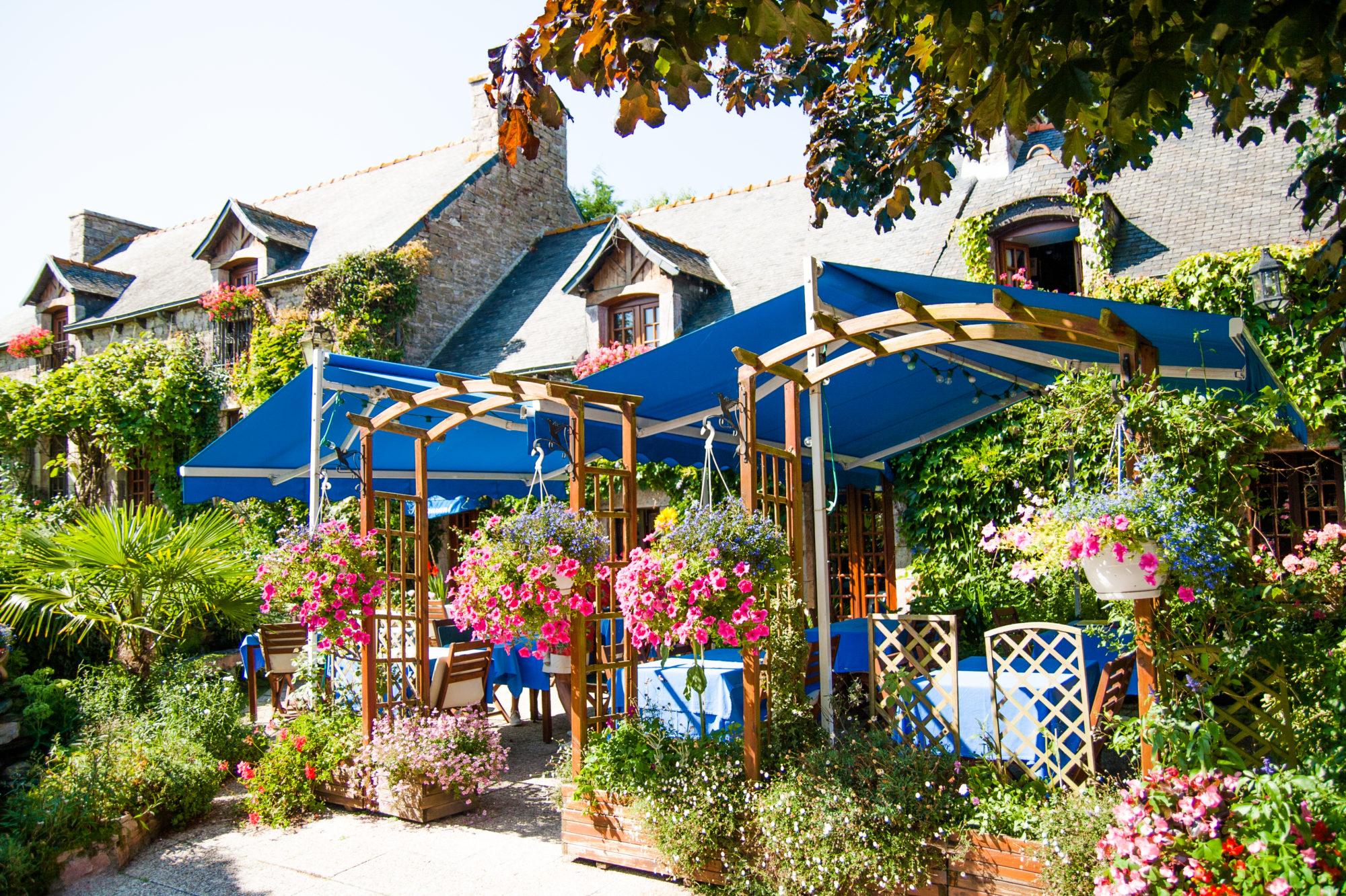 Terrasse du Restaurant Relais Saint-Aubin a Erquy
